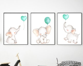 image regarding Printable Elephant known as Elephant printable Etsy